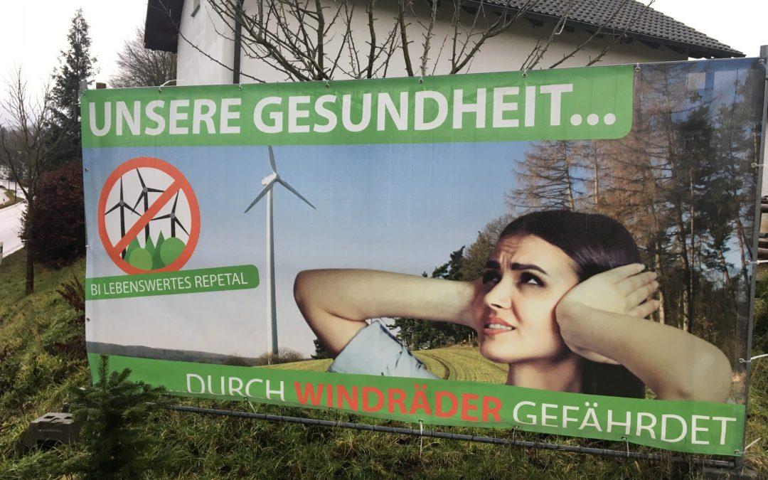 Deutschlandweite Proteste gegen den Bau von Windkraftanlagen – über 1.000 Bürgerinitiativen haben sich schon organisiert!